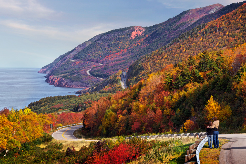 Autumn colors on the Cabot Trail