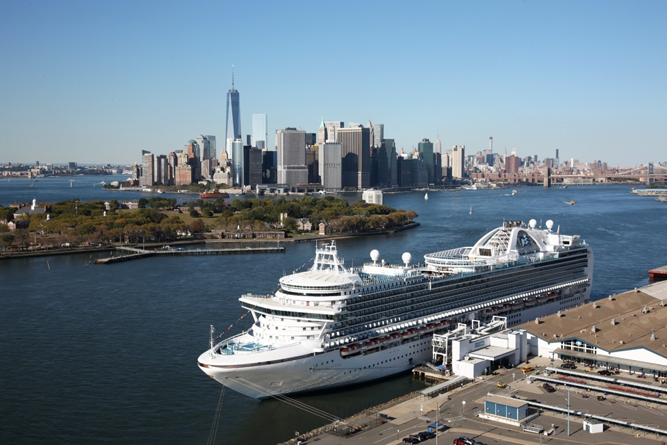 Brooklyn Cruise Terminal - Aerial view